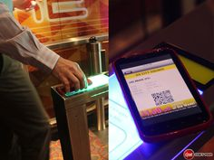 QR codes replace cinema tickets.     A Singaporean cinema operator is cutting out paper tickets and long queues for its visitors. The technology will change the visitor's experience, but will also enable the cinema to hire 45% less employees than usual.