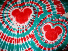 Tie Dye Instructions for Spiral Mickey Shirt - Page 160 - The DIS Discussion Forums - DISboards.com