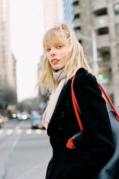 Tanya Dziahileva #offduty in NYC. #VanessaJackman