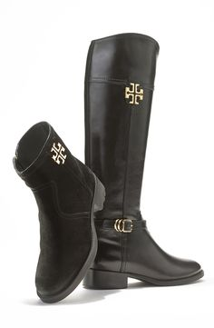 Oh, those Tory Burch boots.