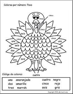 Colorear- imprimir colors, teach