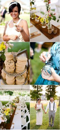 backyard wedding