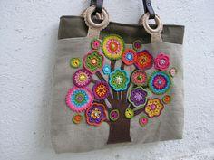 crochet flower embellishments