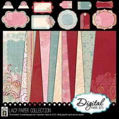 Lacy Digital Scrapbooking Collection (3001001)