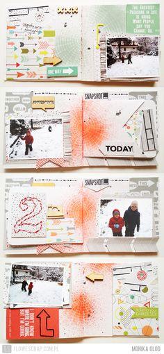 #papercraft #minialbum #scrapbook #journal  by Monika Głód❤