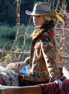 What a beautiful western jacket! Love the classic western style.