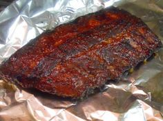 Quick Tender Oven Baked Baby Back Ribs  I'm trying this tonight...