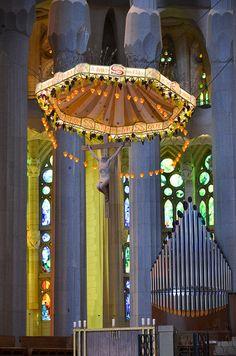 La Sagrada Familia, Cathedral,Barcelona, Spain