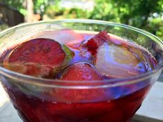 Berry-Lime Sangria - We Olive