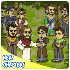LIKE and REPIN if you follow JESUS!    Travel up the Mount of Transfiguration!     Jesus will be taking a few followers with Him,   but who will He choose?   Who are you going to meet?   What is going to happen high upon that mountain?   Find out more in the New Story release!
