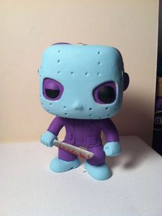Custom Funko Pop Vinyl  Nes Jason Friday The 13th http://popvinyl.net #popvinyl #funko #funkopop