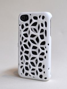 Macedonia iPhone Case: Strong and beautiful while appearing deceptively fragile, the design does not detract from the intrinsic gorgeousness of the iPhone. 3D printed polyamide double layered case is easy to grip and allows great ventilation. Double layer can be changed to a cage structure for enhanced protection. Also available in  grey and red.  #iPhone_Case #freshfiber