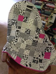 The Nerdy:Girly Quilt for May Lillian
