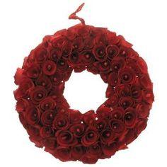 Smith & Hawken Mini Curled Wood Wreath