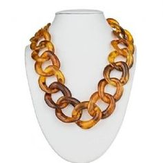 Fornash Short Tizzy Necklace - Tortoise Shell