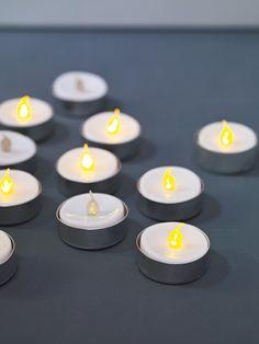 Twelve Battery Tea Lights  £16.50  http://www.coxandcox.co.uk/decorative-home/candles-holders/twelve-battery-tea-lights