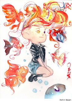 Delirium of the Endless by Dustin Nguyen