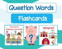 "FREE LANGUAGE ARTS LESSON - ""Question Words Flashcards"" - Go to The Best of Teacher Entrepreneurs for this and hundreds of free lessons.   Pre-Kindergarten - 2nd Grade   #FreeLesson   #TeachersPayTeachers   #TPT   #LanguageArts  http://www.thebestofteacherentrepreneurs.net/2013/09/free-language-arts-lesson-question.html"