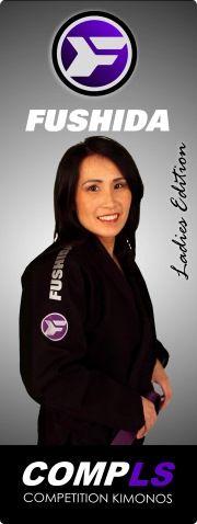 Womens Black Jiu-Jitsu Gi Kimono   Fushida COMPLS Women's Brazilian Jiu Jitsu BJJ Gi - black $160
