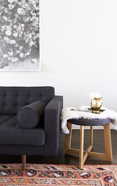stool as end-table // smitten studio