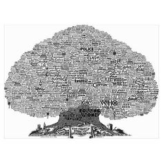 British Rock Poster. Word art tree made up of British rock bands. #british #rock #wordart #poster rock wall, rock tree, rock poster, british rock, rock bands, wall decals, music inspr, art tree, rocks