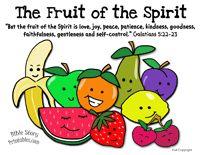 sunday school, children church, bibl craft, preschool printables, color, bible studies, kid crafts, bible crafts, fruits of the spirit kids