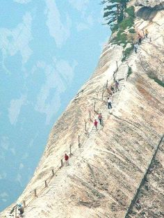 #Mount_Huashan or #Huashan_National_Park in #China http://en.directrooms.com/hotels/subregion/1-12-58/