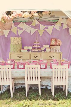 Free Shabby Chic Party #Printables