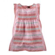 Girls Striped Pink Dress | Tea Collection