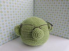 eyeglass holder, muppet glass