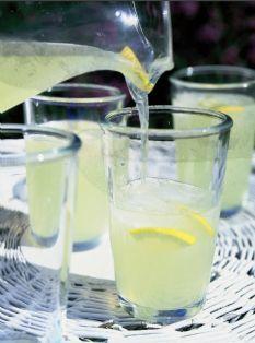 Barefoot Contessa - Recipes - Fresh Lemonade.  I use Truvia in place of sugar.  A little Truvia goes a long way.