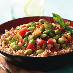 egyptian edamam, meatless meal, diet, edamame, edamam stew