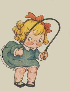 Campbell girl jumping rope by katinthecupboard, via Flickr