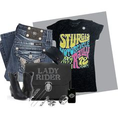 """Ready For Sturgis"" by ladyrider on Polyvore"