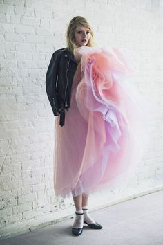 Betsey Johnson & Urban Outfitters Are Bringing The '90s Back #refinery29 http://www.refinery29.com/2014/04/66586/betsey-johnson-vintage-urban-outfitters#slide11 Betsey Johnson Vintage for Urban Outfitters Becca Prom Dress, $350, available at Urban Outfitters.