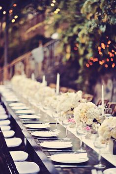 Low Estate Table Centerpiece | photography by http://www.tamizphotography.com