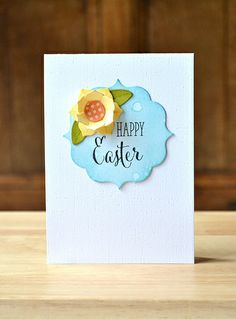 Handmade Easter card by Amy Wanford