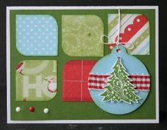 christma card, paper pack, ctmh card, homemad card, ctmh paper, heart card