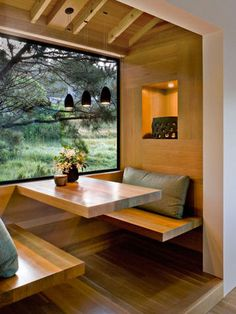 This is cool in two ways. 1. It looks great. 2. You can do this as a bump-out room addition and add it completely.