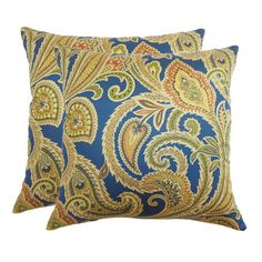 I pinned this Jessica Pillow in Jewel (Set of 2) from the Refined Elegance event at Joss and Main!