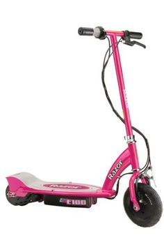 Razor E100 Electric Scooter (Pink) at http://suliaszone.com/razor-e100-electric-scooter-pink/