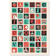 A to Z print