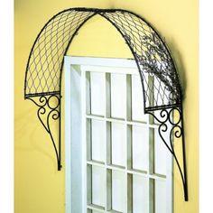 Window trellis to add to cottage charm