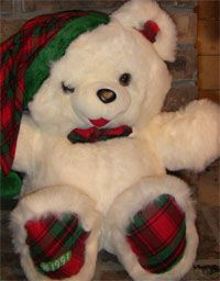 1991 Walmart Snowflake Teddy available at The Teddy Bear Shelter