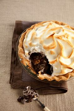 Holiday Pies: Dark Chocolate Ginger Cream Pie
