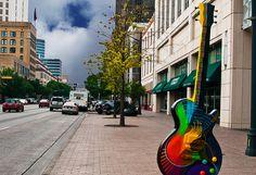 #Austin GuitarTown Project