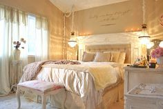 headboard, romantic bedrooms, color, fireplace mantels, master bedrooms, dream bedrooms, light, design, shabby chic bedrooms