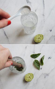 portrait of a cocktail // watermelon basil gimlet #recipe