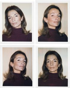 Lee Radziwill photographed by Andy Warhol