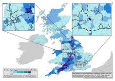 Digital Data Trails of the UK Floods